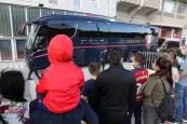 FOTOS | La afición de Osasuna, con el equipo