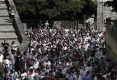 Manifestación del sector taurino en Pamplona