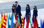 Homenaje a las víctimas de Covid-19 en Madrid