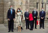 Los reyes participan en la Ofrenda al Apóstol Santiago