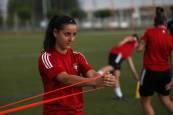 Fotos de la vuelta al trabajo de Osasuna Femenino