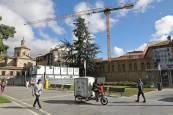 Fotos de la demolición del antiguo convento de las Salesas
