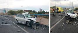 Fotos: Fallece un vecino de Tudela en un accidente de tráfico en Alfaro