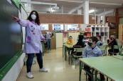 Primer día en el Colegio Público San Miguel de Noáin