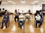 Galería: Ratificado ante el juez el acuerdo que evita el juicio de Osasuna y Hacienda
