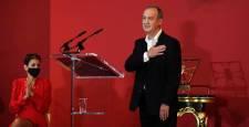 Carlos Cánovas recibe el Premio Príncipe de Viana