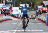 Fotos de la segunda etapa de al Vuelta a España entre Pamplona y Lekunberri