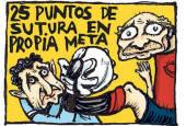 Cien viñetas de César Oroz para el centenario de Osasuna