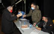 Imágenes de las votaciones a la Asamblea General de Osasuna