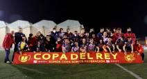 Fotos del Mutilvera-Racing de Santander en Copa del Rey