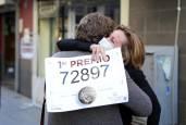 Fotos de los agraciados en el sorteo de la Lotería de Navidad