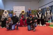 Fotos de la visita de los Reyes Magos a localidades de la Comarca de Pamplona