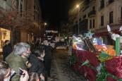 Fotos de la visita de los Reyes Magos a Estella