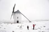 Fotos del temporal de frío y nieve que azota España