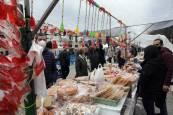 El mercadillo de San Blas, en el Paseo de Sarasate