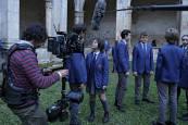 Fotografías del rodaje de 'El Internado-Las cumbres'