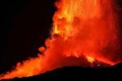 Fotos de la nueva erupción del volcán Etna