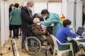 Inicio de la vacunación de mayores en Pamplona