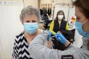 La vacunación continúa este sábado en Azpilagaña
