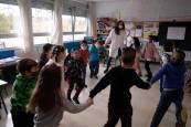 Homenaje a los niños en el colegio público San Jorge