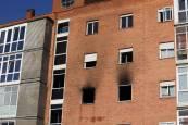 Fotos del incendio en Mendillorri