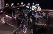 Imágenes del accidente mortal en la NA-134 en Milagro