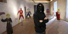 Exposición con las obras del artista urbano LKN en el Condestable