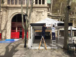 Fotos de las terrazas de bares en la plaza de toros de Pamplona