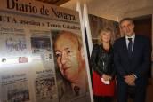 Fotos de los familiares de víctimas en la muestra 'El terror a portada. 60 años de terrorismo en España'