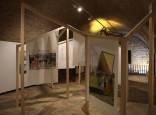 Exposición 'Repensar la periferia' en el Pabellón de Mixtos de la Ciudadela