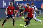 Fotos del partido Osasuna-Real Sociedad