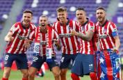 Fotos de la celebración del Atlético de Madrid tras lograr el título de LaLiga Santander.