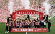 Fotos de la celebración en la que el Atlético de Madrid ha recibido el título de campeón de Liga 2020-21