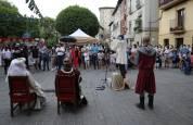 Olite recrea los fastos que siguieron al nacimiento de Carlos, el primer Príncipe de Viana
