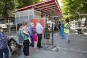 Fotos del regreso de la Tómbola de Cáritas en Pamplona