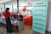 Vacunación con la segunda dosis a los profesionales navarros que recibieron la primera de Astrazeneca