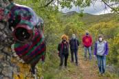 Fotos del museo al aire libre de la senda del Pradillo, en Muniáin de la Solana