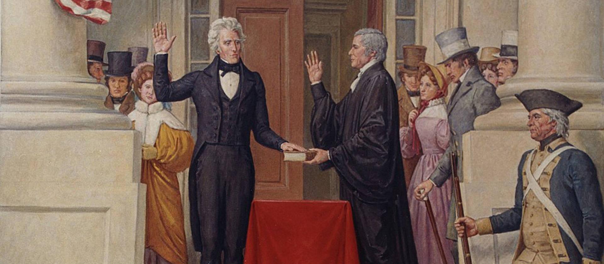 La irrupción del Partido Demócrata en las primeras elecciones modernas (1828)