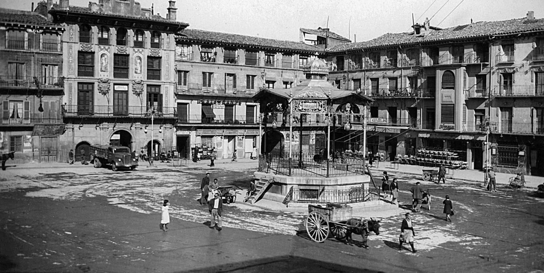 Centenario del quiosco de la Plaza de los Fueros de Tudela
