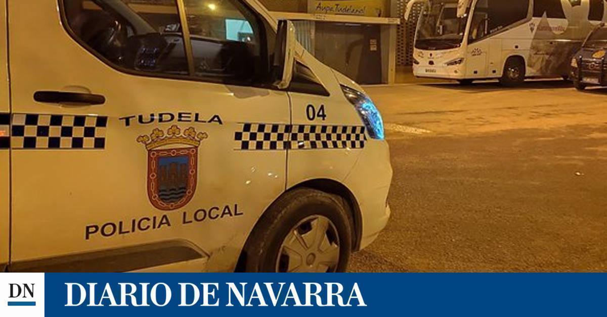 Detenido en Tudela tras dar una bofetada a su expareja e intentar agredir a un agente