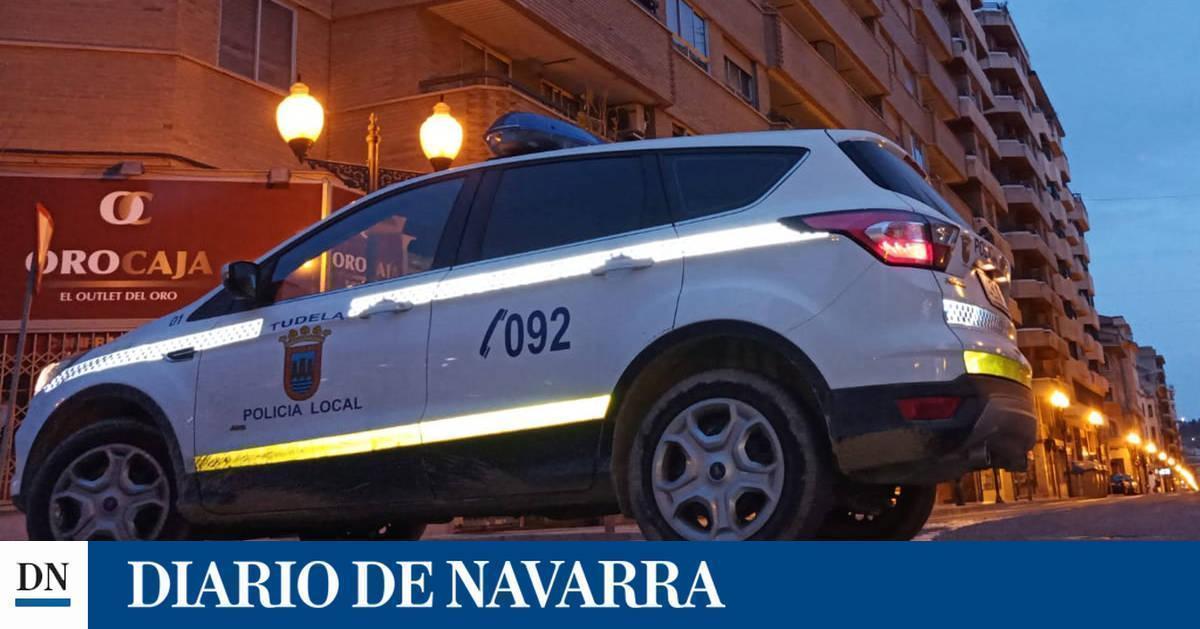 Herida una mujer en Tudela tras caerle un gato desde un primer piso