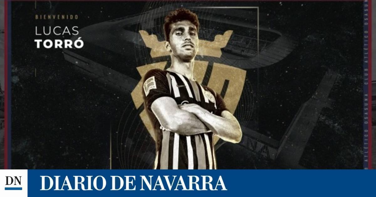 Lucas Torró regresa a Osasuna para defender su camiseta hasta el 2024