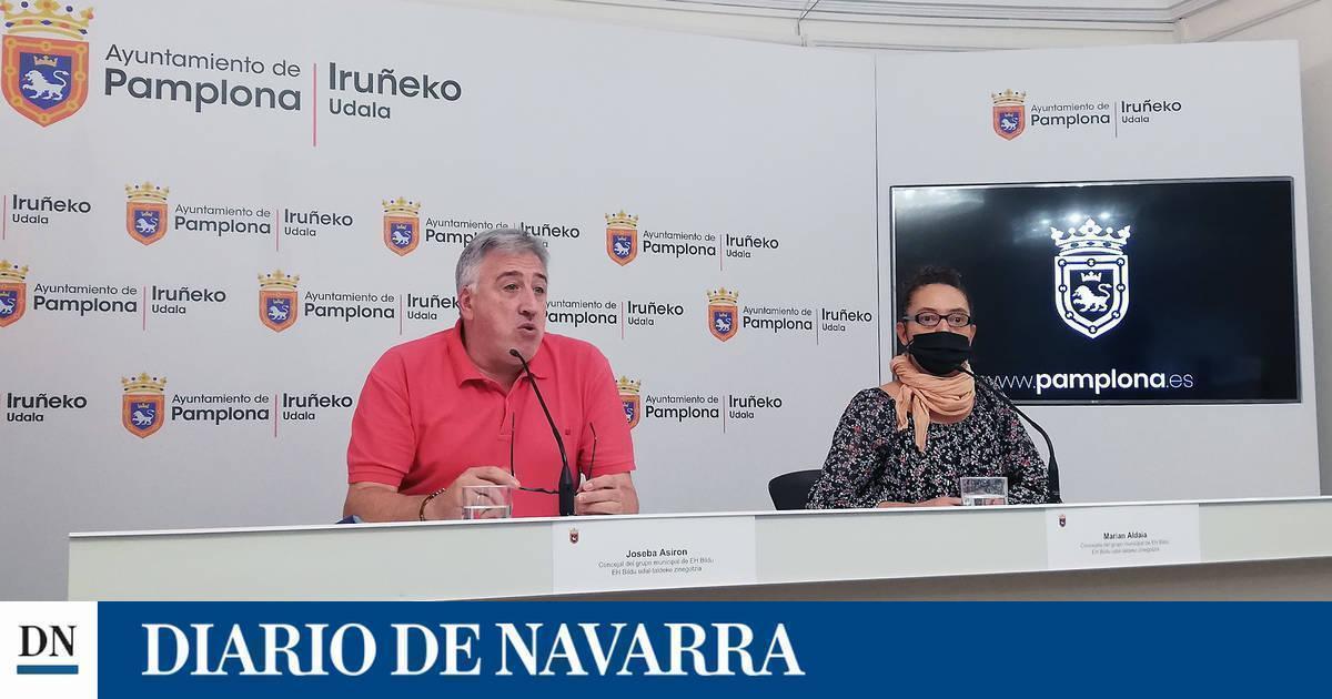 EH Bildu de Pamplona propone mantener la tasa a las terrazas, bonificaciones fiscales y un impuesto a vivienda vacía