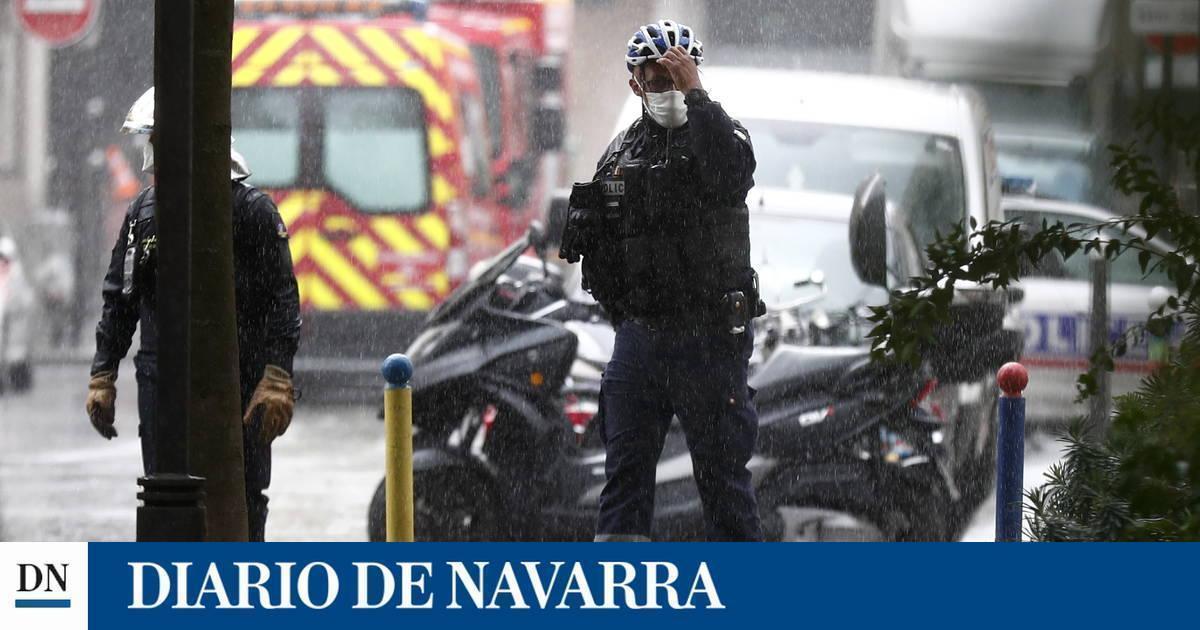 Cuatro heridos por arma blanca cerca de la antigua sede de 'Charlie Hebdo' en París