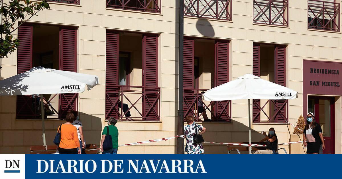 Detectados dos nuevos brotes de coronavirus en centros residenciales de Navarra
