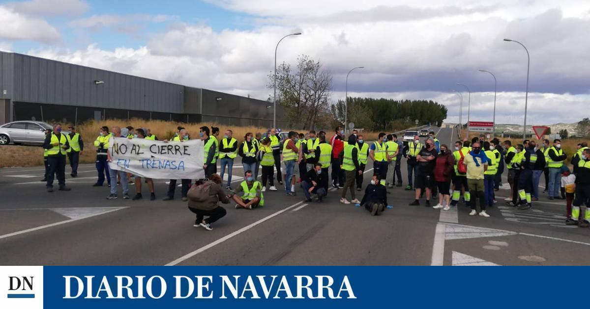 Trenasa, en Castejón, anuncia su cierre y el despido de 110 empleados