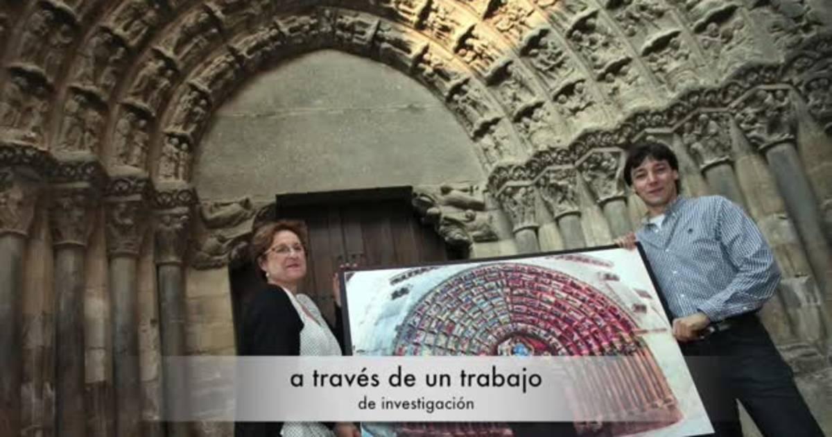 La Puerta del Juicio, el libro de piedra de la Catedral de Tudela