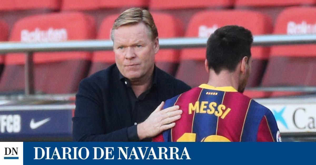 """Koeman """"Osasuna tuvo oportunidades de gol y seguramente mereció marcar uno"""""""