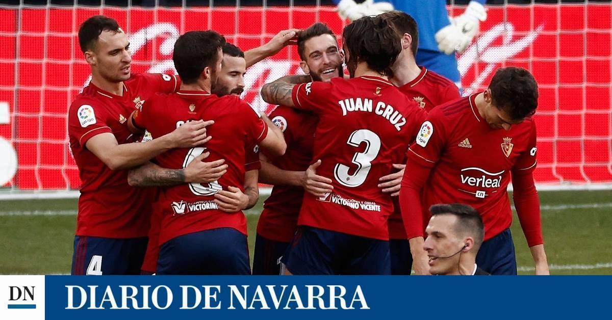 Osasuna gana en Liga tres meses después