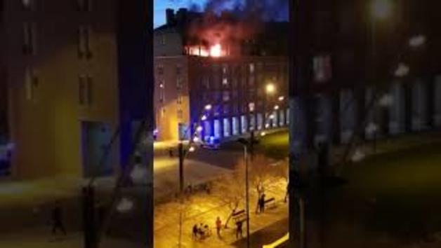 Incendio en un piso de san jorge diario de navarra for Pisos en san jorge pamplona